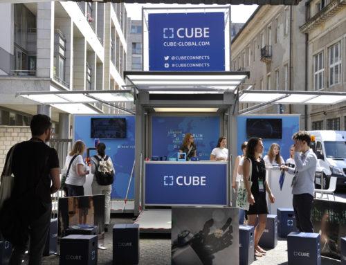 CUBE Tech Fair – unterstützt durch modulbox