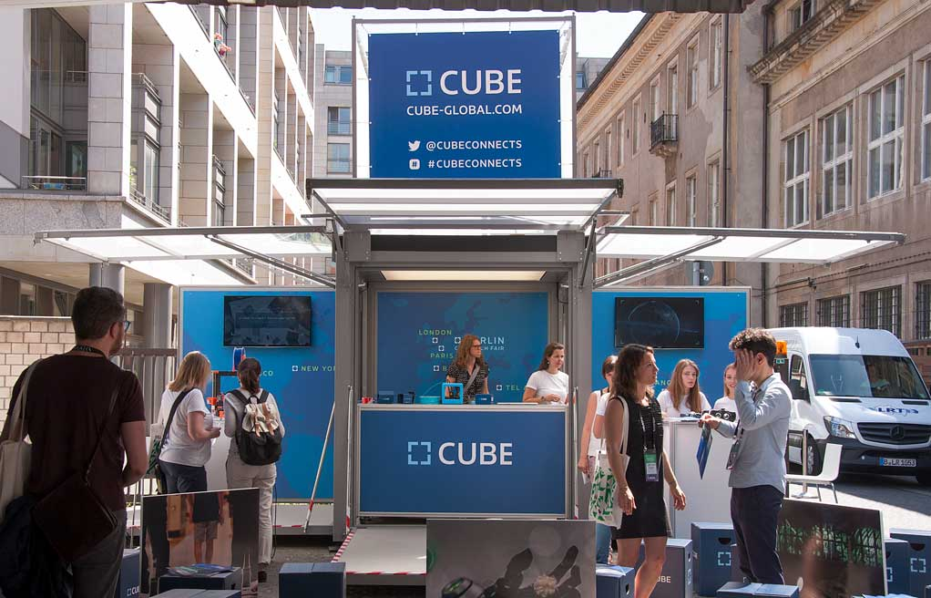 Cube modulbox