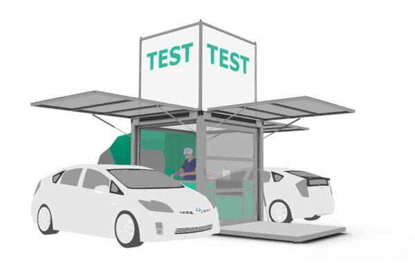 Drive Through Corona Test Station