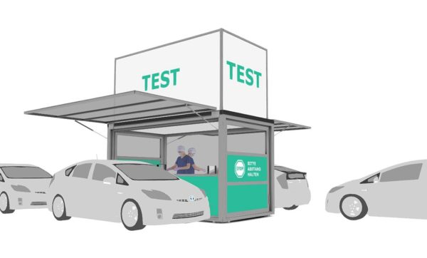 Drive Through Corona Test Station MAX