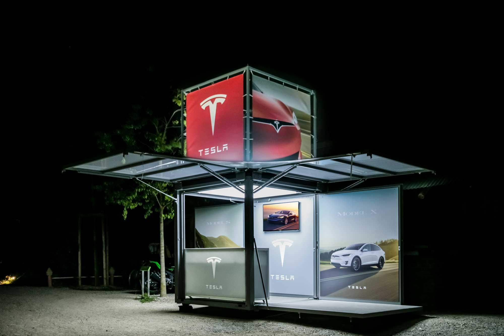 Tesla modulbox